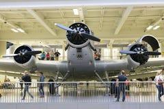München, Duitsland 31 Augustus 2014: Ju-52/3M Stock Foto's