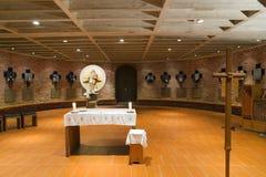 München, Duitsland 31 Augustus 2014: Katholieke Kerk Stock Foto