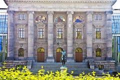 München, Duitsland - Beierse de Kanselarijvoorgevel van de Staat Stock Foto's