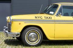 München, Duitsland - Juni 25.2016: Uitstekende Gele de Taxicabine van New York Royalty-vrije Stock Fotografie
