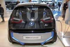 Elektrisches Konzeptauto BMWs i3 Lizenzfreie Stockfotos