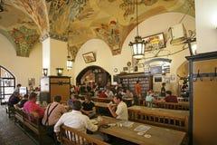 München Hofbraeuhaus, Beieren Stock Foto's