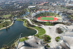 München, Olympia Park Royalty-vrije Stock Afbeelding