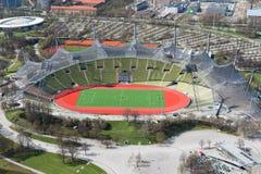 München, Olympia Park Stock Afbeelding