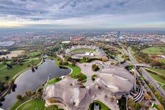 München Olympiapark Stockfoto