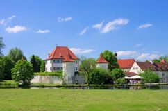 München-Palast Blutenburg lizenzfreies stockbild