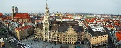 München-Panorama Stockfotos
