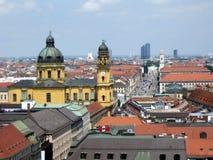 München-Skyline Stockbilder