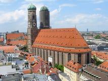 München-Skyline Stockfoto