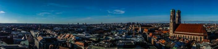 München-Stadt in Deutschland Lizenzfreies Stockbild