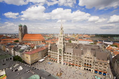 München-Stadtzentrum Stockbild