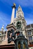 München-Stadtzentrum, Deutschland Stockfotografie