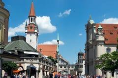 München Viktualienmarkt Royalty-vrije Stock Afbeelding