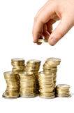 Münze Lizenzfreie Stockfotos
