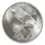 Münze der indonesischen Rupie Stockbilder