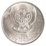 Münze der indonesischen Rupie Stockfoto