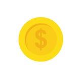Münze des Geldes lizenzfreie abbildung