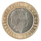 Münze des Pfund zwei Lizenzfreie Stockfotos