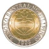 Münze des philippinischen Pesos 10 Stockbilder