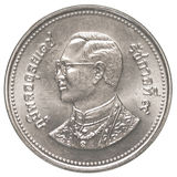 Münze des thailändischen Baht 2 Lizenzfreie Stockfotos