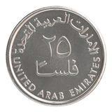 Münze Fils UAE Lizenzfreie Stockfotografie