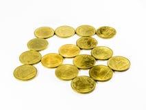 Münze, Haus, Satz Stockfotografie