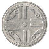 Münze mit 200 kolumbianischen Pesos lizenzfreie stockfotografie