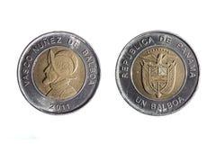 Münze von einem Balboa Lizenzfreies Stockbild