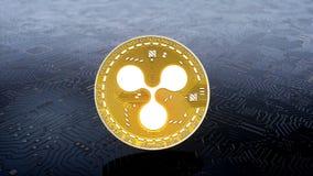 Münze von KRÄUSELUNG cryptocurrency lizenzfreie abbildung
