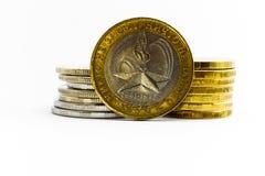 Münze von zehn Rubeln Lizenzfreies Stockfoto