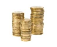 Münzen. Lizenzfreie Stockfotos