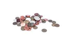Münzen lizenzfreies stockfoto