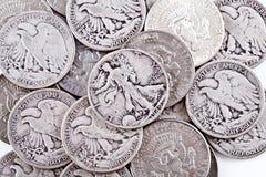 Münzen. Stockfoto