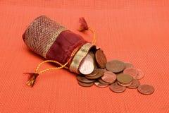 münzen lizenzfreies stockbild