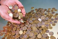 Münzen Stockfoto