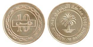 Münzen-Bahrain-fils eingestellt Lizenzfreies Stockbild