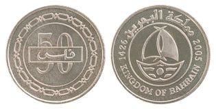 Münzen-Bahrain-fils eingestellt Stockfotografie