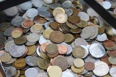 Münzen der Alten Welt, Geschäft, Hintergrund Stockbilder