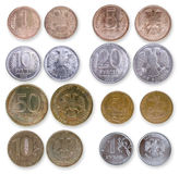 Münzen der Russischen Föderation Lizenzfreie Stockfotos