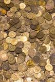Münzen der UDSSR Verschiedene Produktionsjahre und unterschiedlicher Stempel Lizenzfreie Stockfotos