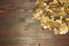 Münzen der UDSSR Verschiedene Produktionsjahre und unterschiedlicher Stempel Stockfotos