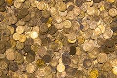 Münzen der UDSSR Verschiedene Produktionsjahre und unterschiedlicher Stempel Lizenzfreie Stockfotografie