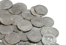 Münzen des von Bangladesh Bargeldes lizenzfreie stockbilder