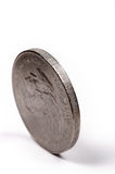Münzen-Detail Stockfoto