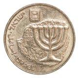 Münzen-Israel-agorot Lizenzfreies Stockbild