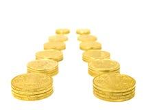Münzen, Münzen, Münzen Stockfotografie