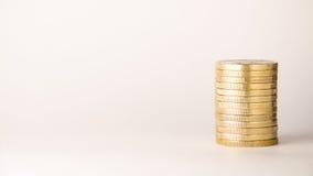 Münzen und Geld von Europa Lizenzfreie Stockfotos