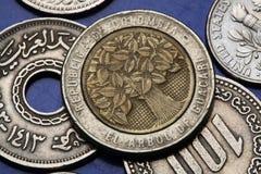 Münzen von Kolumbien Stockfotos