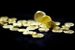 Münzen von Serbien Stockfotografie