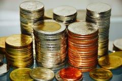 Münzeneinsparungsmillionär Stockfotografie